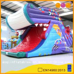 Vergnügungspark-Fisch-aufblasbares Krokodil-Plättchen-Spielzeug (AQ987)