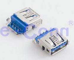 Потребитель USB 3.0 типа a сосуды конический редуктор один комбинированный порт-A9fx-Xxr0-06