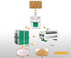 آلة طحن طحن طحن القمح مع السعر