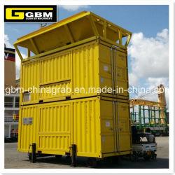 25kg 50kg 100kg Port pondération conteneurisées machines à ensacher mobile