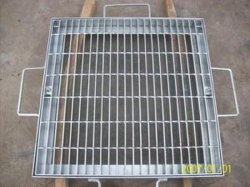 مواد الصلب ISO9001 هوت DIP مغلفنة الصلب غطاء القناة