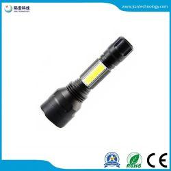Multifunktions-PFEILER C8 helle zweifach verwendbare nachladbare LED Aluminiumtaschenlampe des seitlichen Licht-