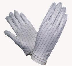 ESD gants non pelucheux, des gants gants antistatiques exempte de poussière