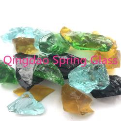 La Chine de gros de la roche cristalline utilisés sur la décoration