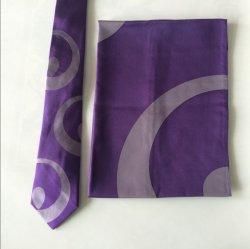 Corbatas de Seda con pañuelos de señora coincidentes