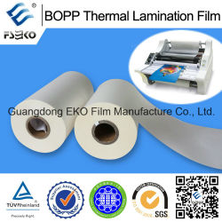 Adhesivo de fusión en caliente laminación térmica BOPP película protectora