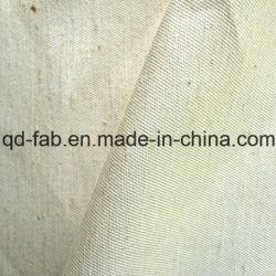 O cânhamo seda tecido sarjado de algodão (QF13-0158)