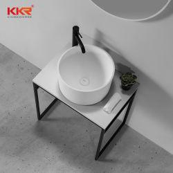 La plus récente arrivée de haute qualité Surface solide de plancher en métal du bassin de lavage permanent de la jambe