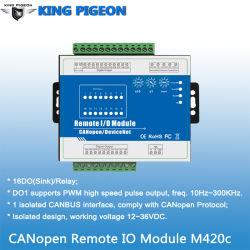 E/S remotas módulo admite alarma Canopen PWM