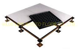 beëindigt het Volledige Ceramische Staal van 600*600*45mm Cementitious Antistatische Opgeheven Bevloering van de Toegang
