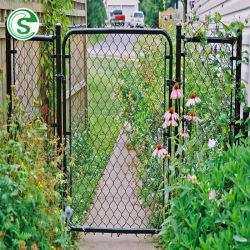 Galvanisé recouvert de PVC résistant/Diamond Wire Mesh Maillon de chaîne de clôture de jardin/Gate