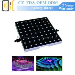 Plancher de danse de l'éclairage à LED Planchers plancher de danse de pixel vidéo numérique stade LED danse de mariage