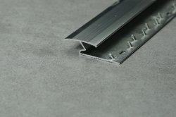Aluminiumteppich trimmt Teppich-Rand-helles Silber u. helles Gold-u. glattessilber-u. glattesgold