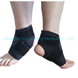 ストラップが付いている通気性のネオプレンの足首波カッコサポート