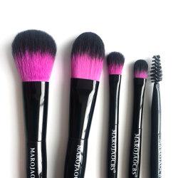 2019 het Kosmetische Hulpmiddel van de Ster 5 van de Tweekleurige Synthetische van het Haar van de Make-up Pakken Reeks van de Borstel