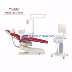 Toye Traitement dentaire Fabricant chaise avec chariot dentaire Panier