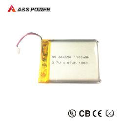 La onu38.3 CB 604050 Batería recargable de Litio 3,7V 1100mAh Batería de polímero de litio