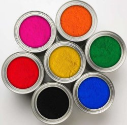 Epoxid-Polyester färbt das Puder, das Selbstlack-Spray-Lack beschichtet