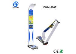 DHM-800s 折りたたみ式 BMI 超音波ボディスケールバランスコインが作動しました