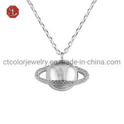Jóias de eternidade Planeta Pendant versão coreana Colar de prata jóias