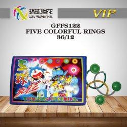 Capretti sicuri degli anelli Gffs122 cinque della fabbrica di vendita diretta delle novità al suolo variopinte del filatore esterni