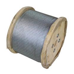 6 * 12-6mm 갈바니형 강철 와이어 로프