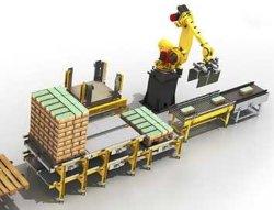 Логистика Укладка на поддоны для робота, Укладка на поддоны, штабелевка, упаковки и тары, передающие и размещение