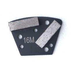 2개의 바 세그먼트 구체적인 사다리꼴 가는 다이아몬드 패드