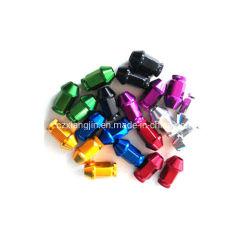 Горячая продажа алюминия CNC автозапчастей колесных гаек