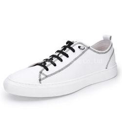 Натуральная кожа мужчин повседневной обуви плоские мужчин башмак кроссовки спорта