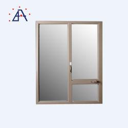 نافذة من الألومنيوم مع شاشة Fly من الفولاذ المقاوم للصدأ