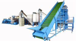 500kg/h utilisé usine de recyclage de bouteilles PET