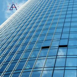 Звук коммерческих зданий Теплоизоляция алюминиевая наружной стены из стекла