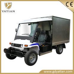 2 Seater 골프 카트 후방 냉장된 화물 바디를 가진 소형 트럭 차량