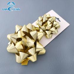 El repujado de Oro de la puerta de arco de regalo de Navidad gran arco para la decoración