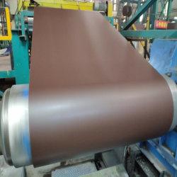 Велюр или складки на поверхности PPGI Prepainted Galvanzied стали с полимерным покрытием стали катушки зажигания