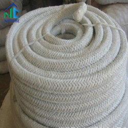 Alta densidade de silicato de alumina de Fibra Cerâmica de fibra de vidro cordas, materiais de vedação para forno industrial fogão com forno
