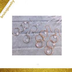 Nouveau design de mode Eardrop Imitation diamants Earring Hoop Earring