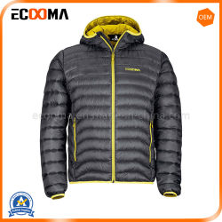 아래로 도매 남자의 겉옷 가짜 겨울 Hoody 재킷