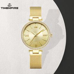 Bijoux en acier inoxydable bracelet cadeau quartz watch Mesdames Watch (71357)