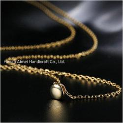 Banheira de venda de ouro ao redor Cordão Fashion 925 Colar de Prata