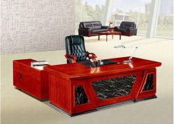 Bureau en bois massif Forme de l Directeur général Bureau (FEC1804)