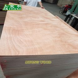 720/820/920X2150mm*2.7mmの表面Okoume/Bintangorはメキシコまたはパナマ市場のためのポプラのドアの皮の品質を支持する