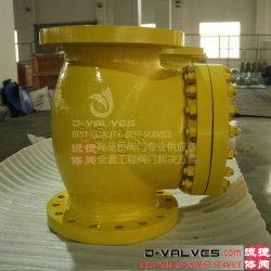 Aço inoxidável/ANSI API de aço fundido/Carbono/Wcb Non-Return Balance/Wafer/Levante/válvula de retenção dupla para 150lb 300 lb 600 lb 900lb