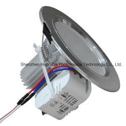 O alumínio+PC AC100-240V 3LEDs 3W Marcação RoHS Refletor LED ajustável