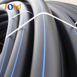 Водоснабжение гибкие черные пластиковые трубы из полиэтилена HDPE стабилизатора поперечной устойчивости