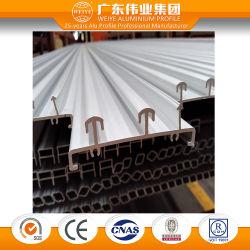 Les profils en aluminium anodisé pour vitre coulissante avec Certification TUV