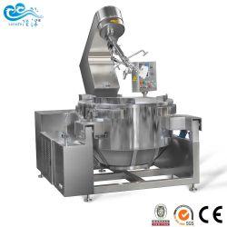 Ce SGSによってミキサーが付いているやかんを調理するフルオートの産業電気熱くする唐辛子ソースはカラメルソースのために承認した