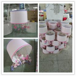 Lâmpada de Zhongshan Sombra Factory abajur personalizar as Tampas da lâmpada de tecido