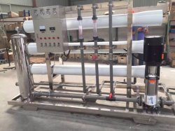 3 toneladas de equipamentos de tratamento de água de osmose inversa